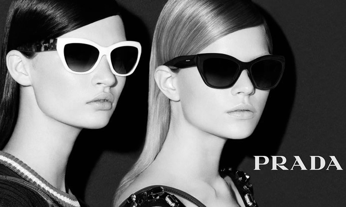 24aa0f6d980 Prada glasses are among the most coloured